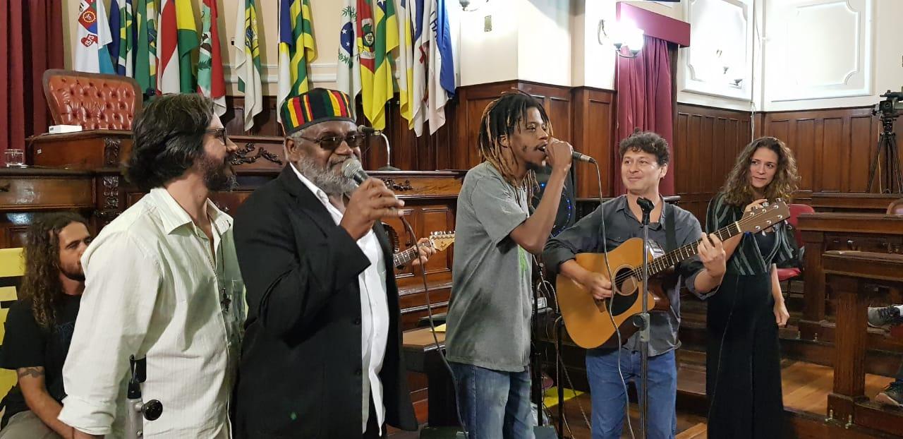 Dia Internacional do Reggae na Câmara Municipal de Niterói 01.07.2019
